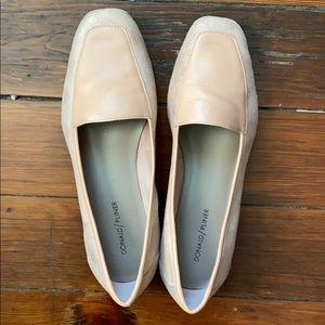 Donald Pliner Blush Pink Loafers